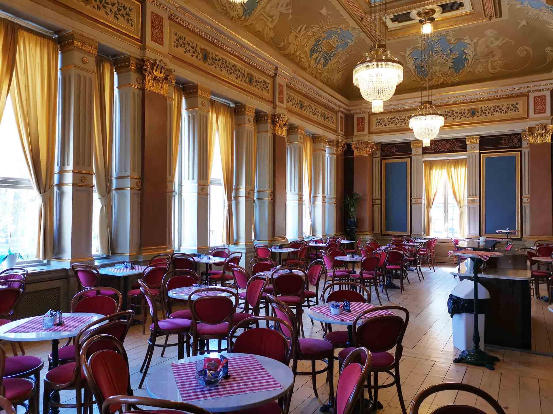 Interiör Café Amadeus