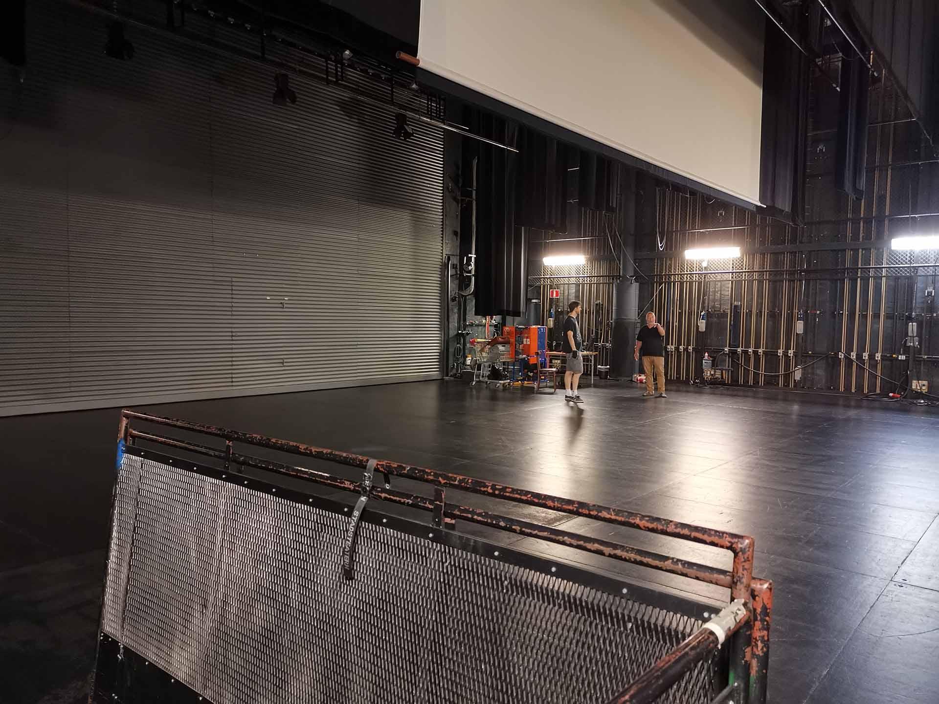 Bild av scenen