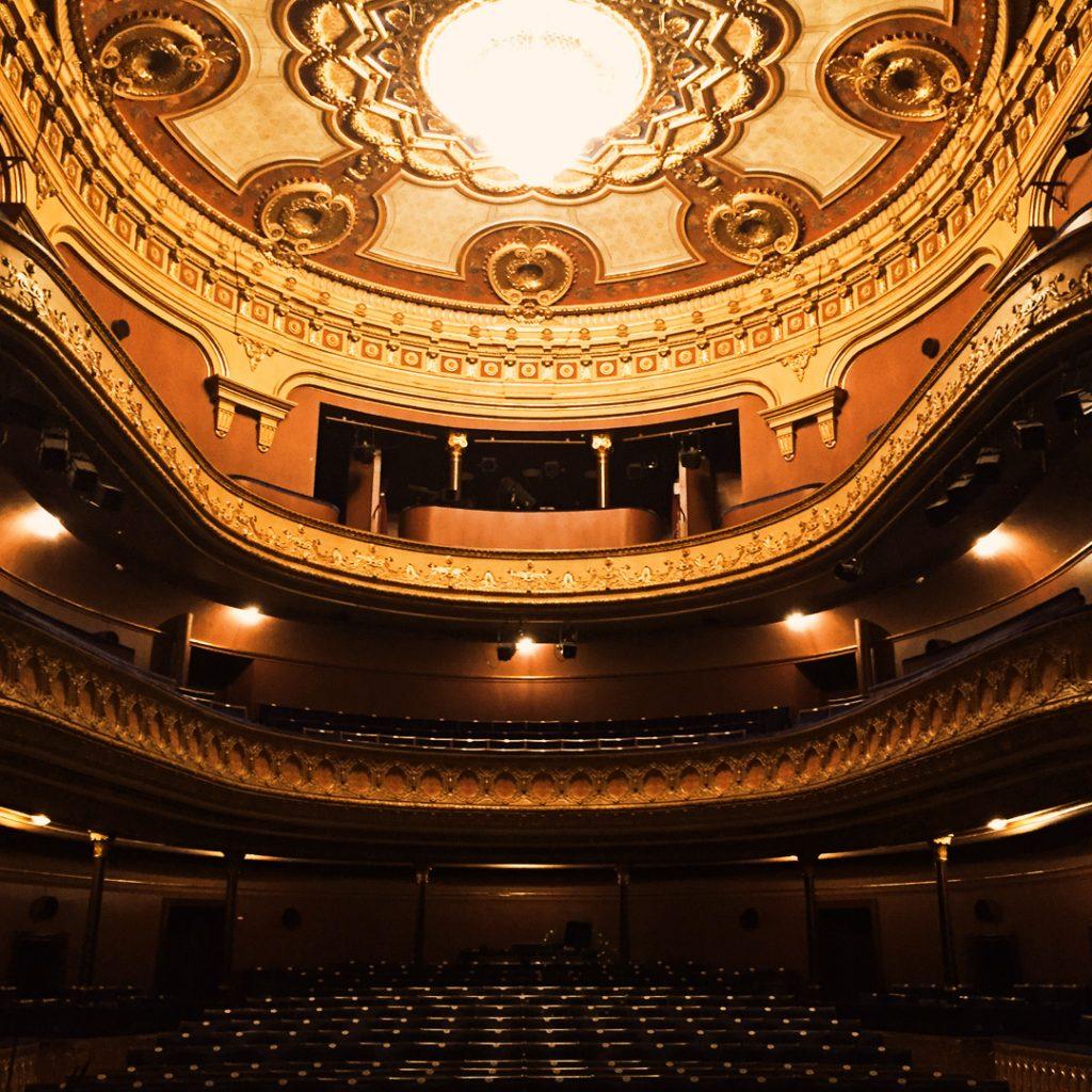 Bild av Gävle Teaters salong