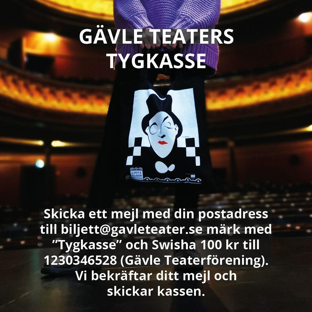 Gävle Teaters tygkasse