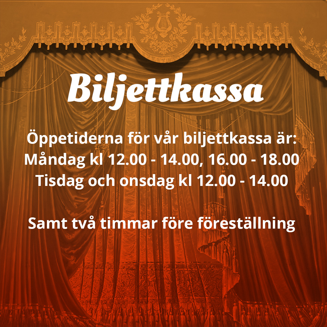Gävle Teaters öppettider